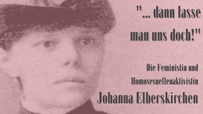 Folge 13: Johanna Elberskirchen – Feministin und lesbische Aktivistin